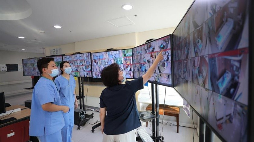 De las 74 nuevas transmisiones, algo más de la mitad, 42, correspondieron a Daegu, a unos 230 kilómetros al sureste de Seúl.(EFE)