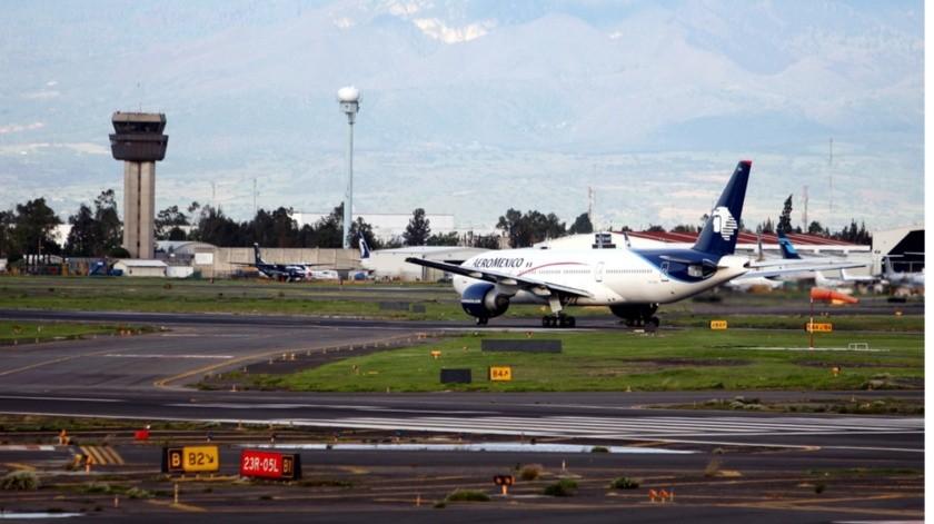 En un comunicado indicó que ya el vuelo AM0005, con destino a París, Francia, ya fue cancelado.