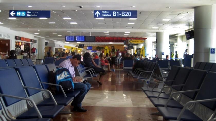 Aeropuerto Internacional de Cancún(Agencia Reforma)