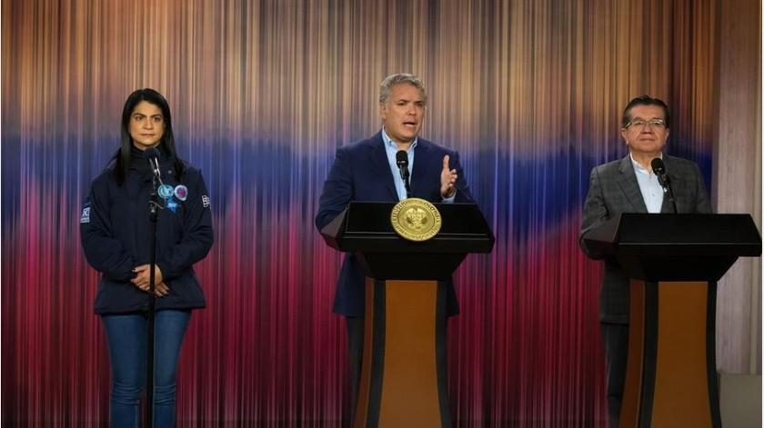 """Esa medida fue criticada por la vicepresidenta ejecutiva de Venezuela, Delcy Rodríguez, quien la calificó como un """"acto de irresponsabilidad grotesca"""".(EFE)"""