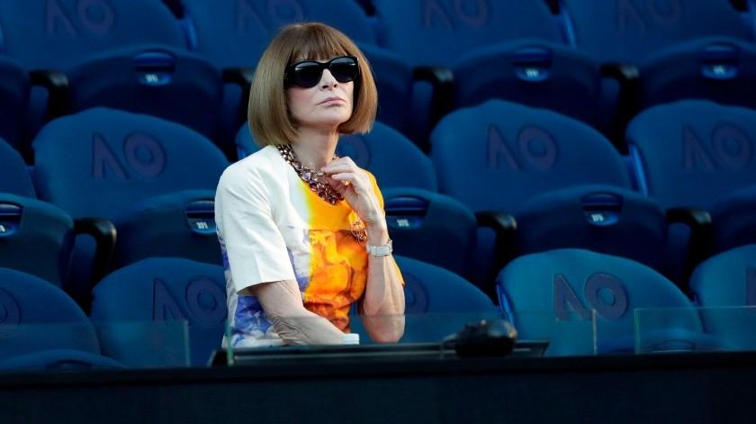 La editora jefe de la revista Vogue, Anna Wintour, organiza el evento.(EFE)