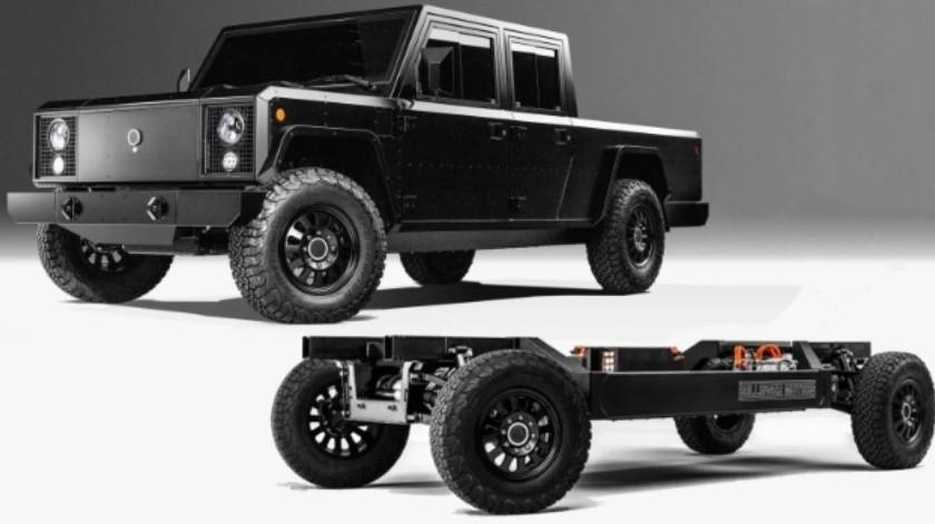 Compañía vende chasis de camionetas eléctricas para que hagas la tuya como quieras(Bollinger)