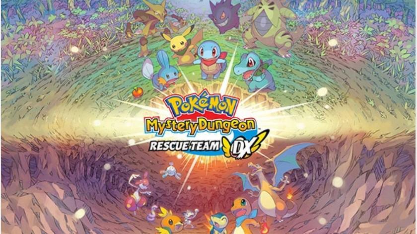 Pokémon Mystery Dungeon: Rescue Team DX, lídera las ventas en Japón