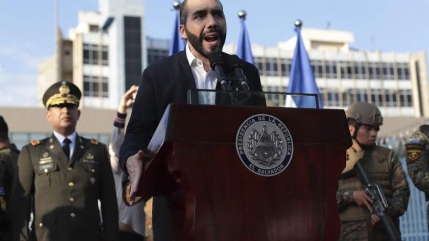 "Bukele pide a México dejar de ver al coronavirus ""como algo normal""(AP)"