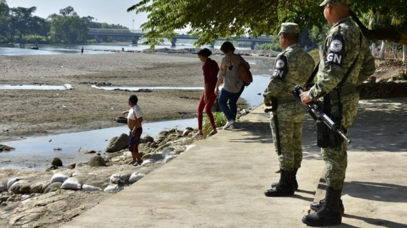 Río Suchiate(Agencia Reforma)