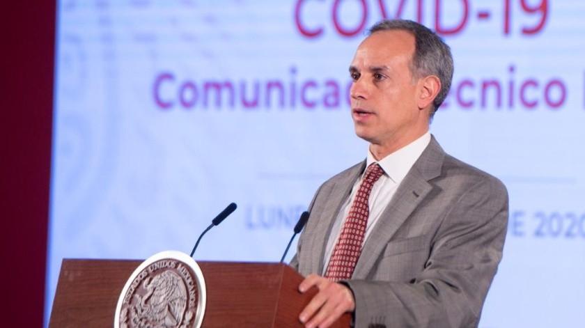 Anunció esta mañana Hugo López-Gatell, subsecretario de Prevención y Promoción de la Salud.(Gobierno de México)