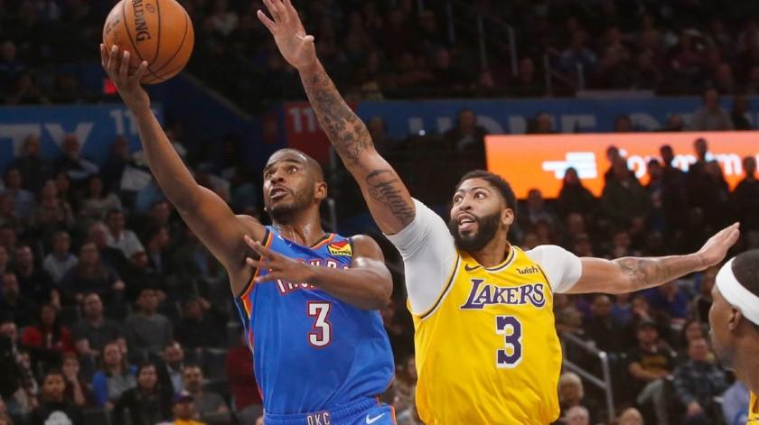 NBA sería la primera liga en regresar a la actividad, según casas de apuestas.(AP)