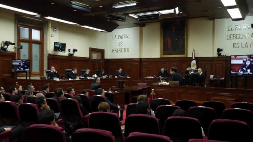 Suprema Corte de Justicia de la Nación(Agencia Reforma)