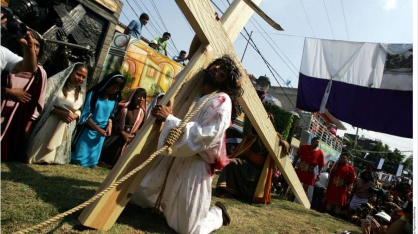 Iztapalapa: Pasión de Cristo y viacrucis se harán sin público(GH)