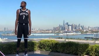 Kevin Durant y tres compañeros de Nets dieron positivo por coronavirus