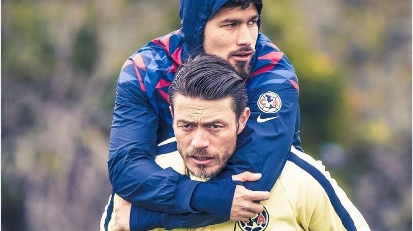Vigilan a jugadores del América para mantenerlos en forma pese a Covid-19(Instagram/ giber)