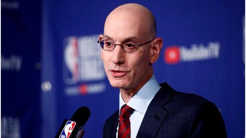 La NBA aumentó 550 millones su crédito para cubrir gastos por coronavirus(EFE)