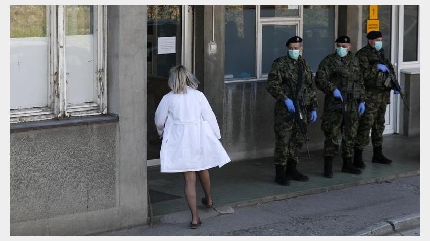 Eslovenia se ha visto afectada por la crisis al tener 273 casos confirmados y un fallecimiento, según cifras oficiales emitidas el martes.(AP)