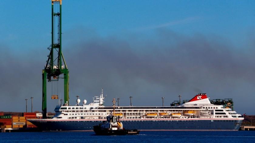 Comienza en Cuba la evacuación de crucero británico con cinco casos de COVID-19.(EFE, EFE)