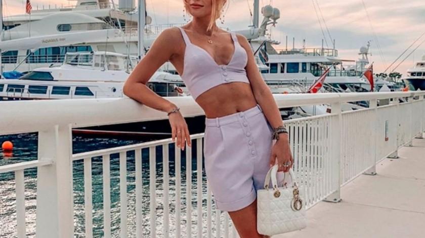 Irina Baeva.(Tomada de la red)
