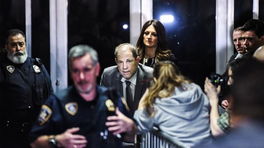 Trasladan a Harvey Weinstein a prisión de alta seguridad.(Tomada de la red)