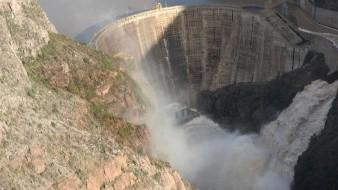 Presa La Angostura rebasa nuevamente su capacidad a causa de lluvias
