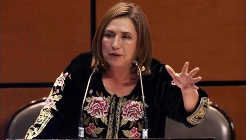 """""""¿Soy sospechosa de coronavirus?"""": Xóchitl Gálvez en Senado por familiar en cuarentena(GH)"""
