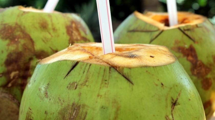 Las ventas de productos de agua de coco han aumentado drásticamente durante los últimos días a través de plataformas de comercio electrónico.(Pixabay)