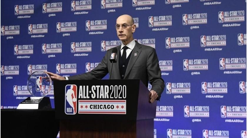 NBA considera regresar y celebrar partidos de caridad(AP)