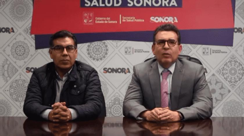 Conferencia de prensa del día de hoy de la Secretaría de Salud del Estado de Sonora(Cuenta oficial Salud Sonora @ssaludsonora)