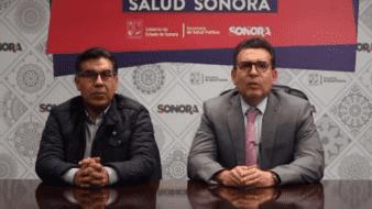 Conferencia de prensa del día de hoy de la Secretaría de Salud del Estado de Sonora