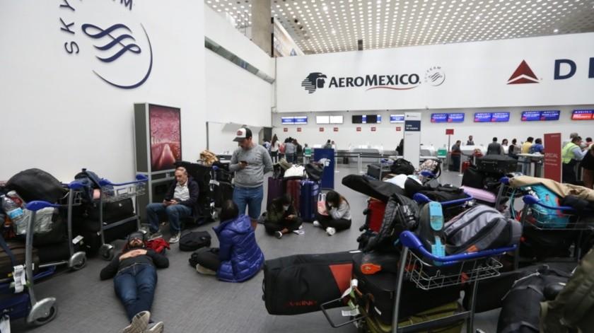 """Los mexiquenses y mexicanos varados en Perú, """"estamos viviendo una pesadilla, en la que quedamos atrapados, que esperamos termine pronto"""".(Agencia Reforma)"""
