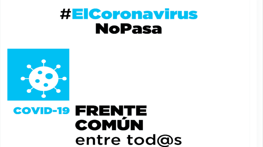 LA CRÓNICA se une a frente común #ElCoronavirus no pasa(Archivo)