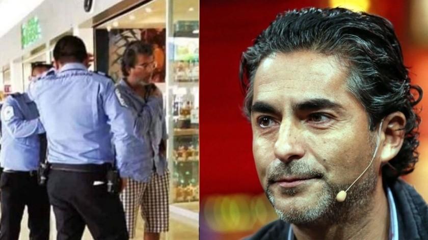 Raúl Araiza da su versión sobre su escándalo en aeropuerto.(Tomada de la red)