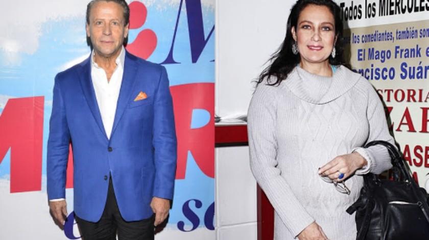 Alfredo Adame vuelve arremeter contra Diana Golden.(Agencia México)