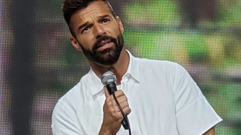 Ricky Martin.(Tomada de la red)