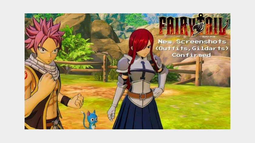 Nuevo tráiler del RPG de Fairy Tail