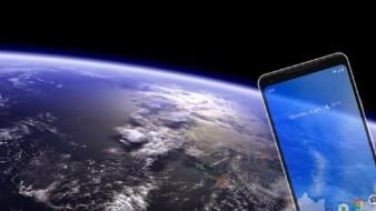 Teléfono recibe el primer mensaje de texto desde el espacio