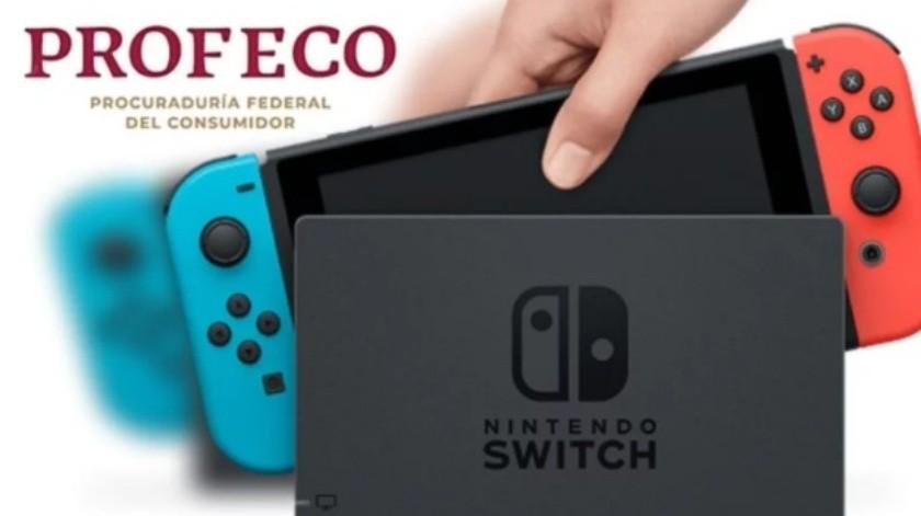 Ordenan a Profeco dar resultados de las quejas por Nintendo Switch(Unocero)