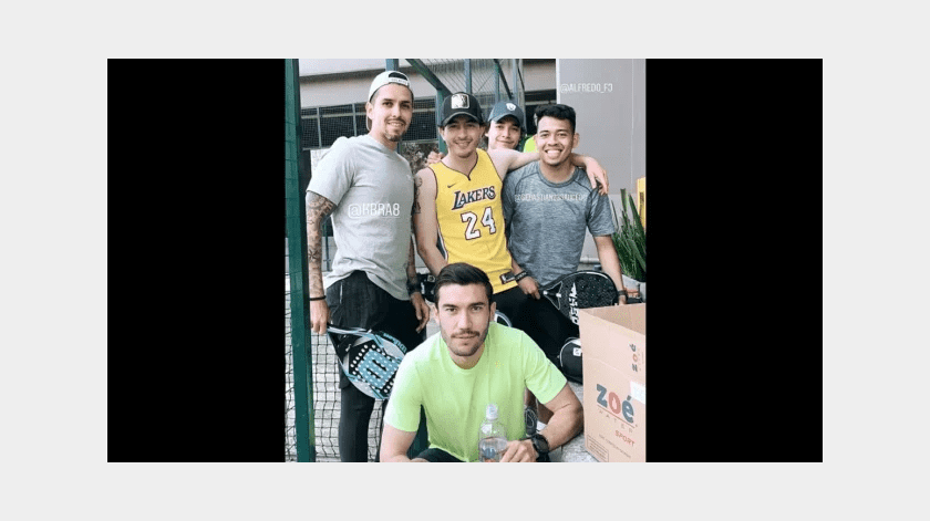 Sin temor al coronavirus jugadores de Pumas rompen cuarentena para jugar pádel(Especial)
