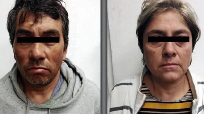 Detienen en Edomex a pareja implicada en el asesinato de niña de 3 años(Especial)