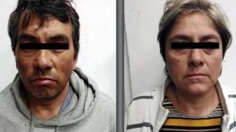 Detienen en Edomex a pareja implicada en el asesinato de niña de 3 años
