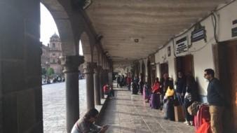 Bajacalifornianos varados en Cusco Peru salen en autobús