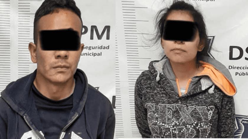 Madre y padrastro del niño Abraham están detenidos, por faltas administrativas(Cortesía)