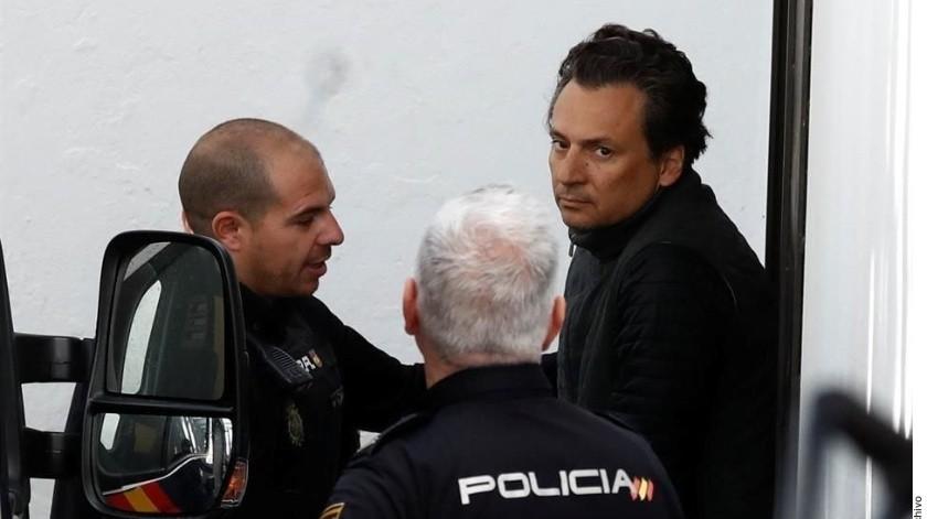 El pasado 12 de febrero, elementos de la Interpol en España detuvieron a Lozoya Austin.