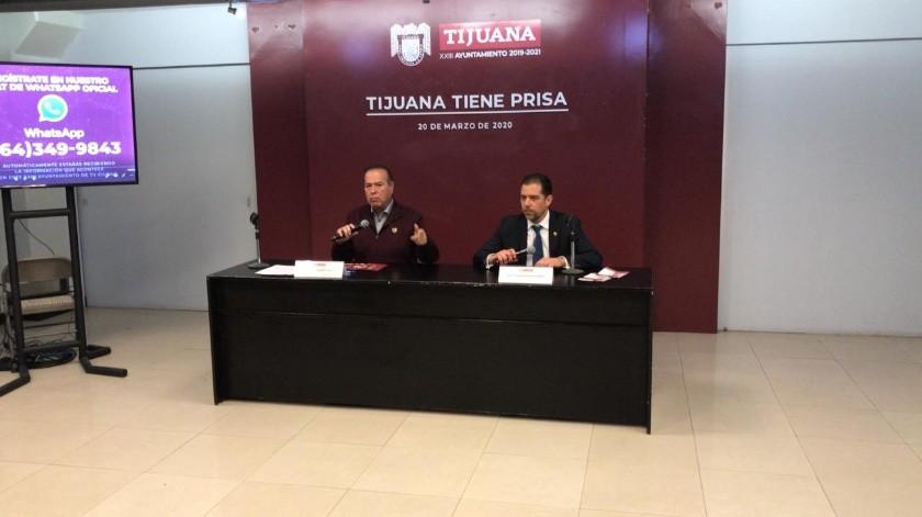 Frontera continuará abierta, aclara Arturo González.(Glenn Sánchez)