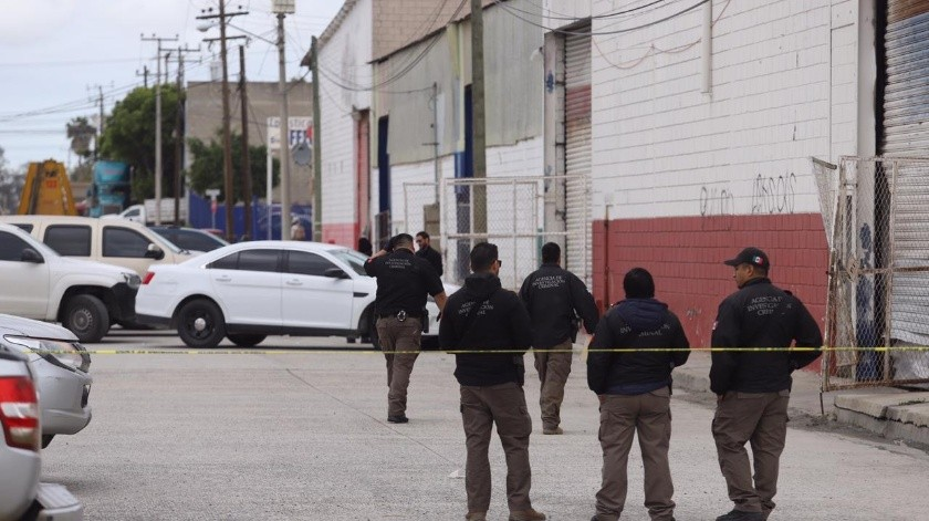Continúan resguardo de presunto narcotúnel en Otay.(Gustavo Suárez)