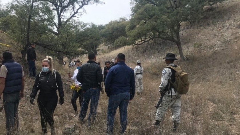 Hallan cuerpo de una mujer y restos óseos de otra persona en fosas clandestinas(GH)