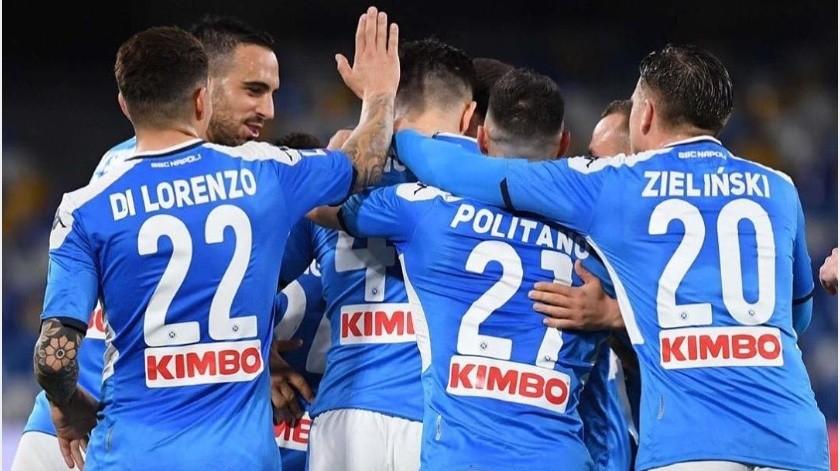 Napoli reanudará entrenamientos el próximo miércoles a pesar de la pandemia(Instagram @officialsscnapoli)