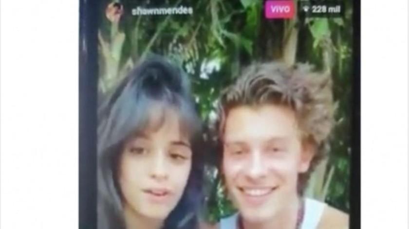 Coronavirus une a Camila Cabello y Shawn Mendes, ¿se besan?(GH)
