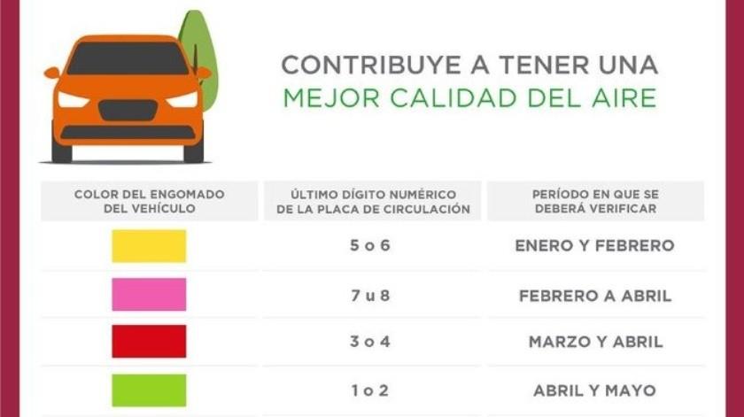 Esta modificación aplicará para los vehículos matriculados en la Ciudad de México que cuenten con engomado de circulación color rosa, o cuyo último dígito numérico de las placas de circulación sea 7 u 8.
