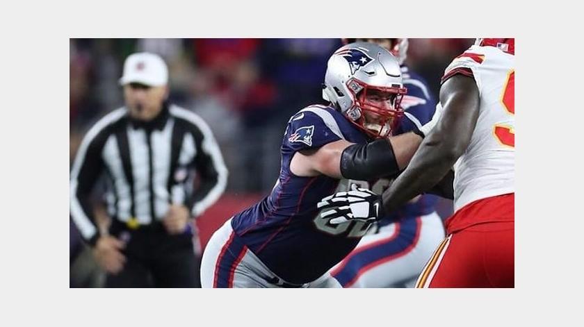 Patriotas de Nueva Inglaterra firman a Joe Thuney por una temporada(Instagram @josephthuney)