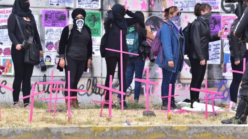 Crecen feminicidios 24% de enero a febrero en México(Agencia Reforma)