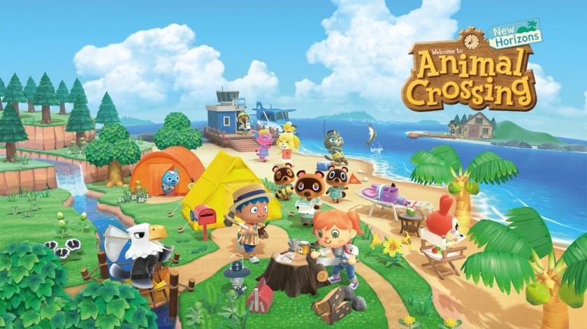 El juego Animal Crossing: New Horizons está disponible para la familia de sistemas Nintendo Switch.(@animalcrossing)
