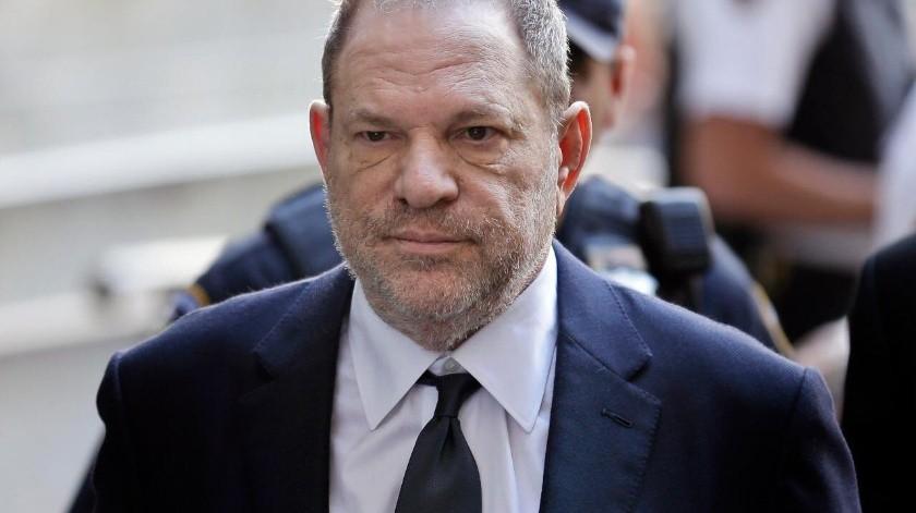 Harvey Weinstein cumplirá sentencia de 23 años en prisión.(AP)